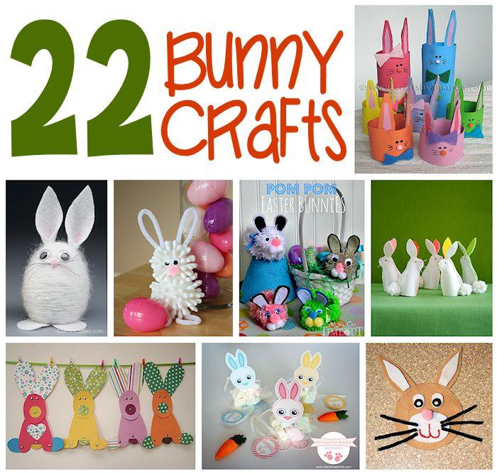 22 Bunny Crafts