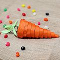 Candy Carrot Cone