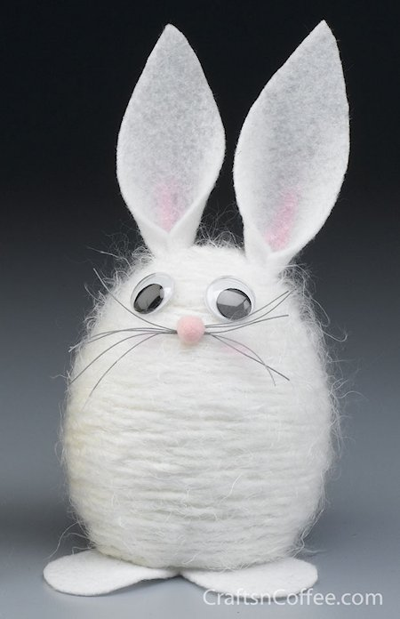 Yarn Bunny Craft
