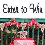 Win Burlap Decorations and GC 150