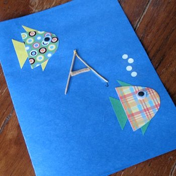 20 father s day cards for kids to make about family crafts for Father s day fishing card
