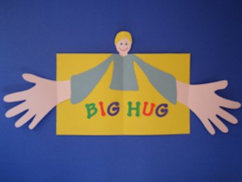 Big Hug Father's Day Card