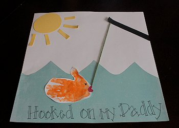 Hooked on My Daddy Card