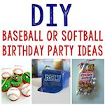 DIY Baseball party ideas 150