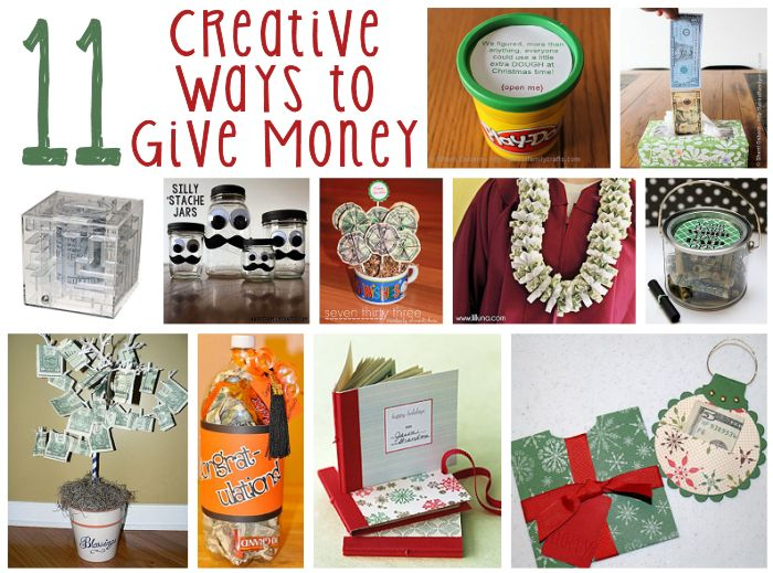 11 Creative ways to give Money as Gifts