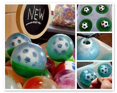 Soccer Ball Sphere Soap