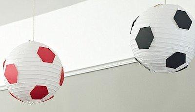Soccer Ball Hanging Lanterns