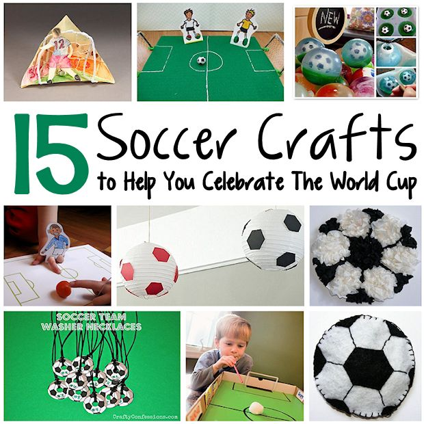 !5 Soccer Crafts to Help You Celebrate The World Cup