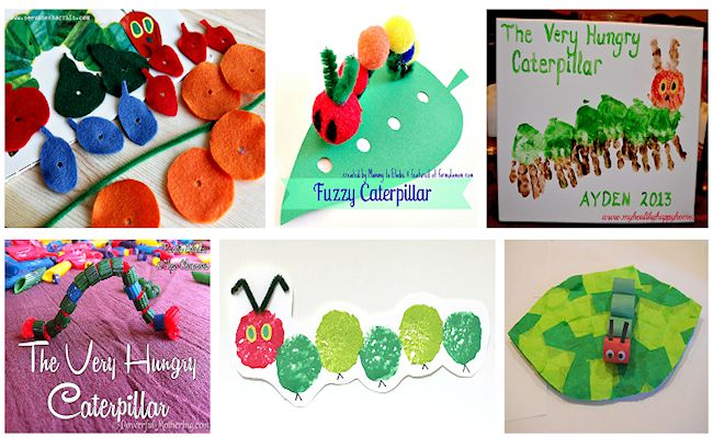 5 very hungry caterpillar projects