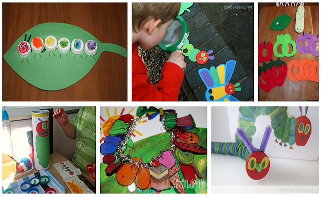 6 the very hungry caterpillar activities