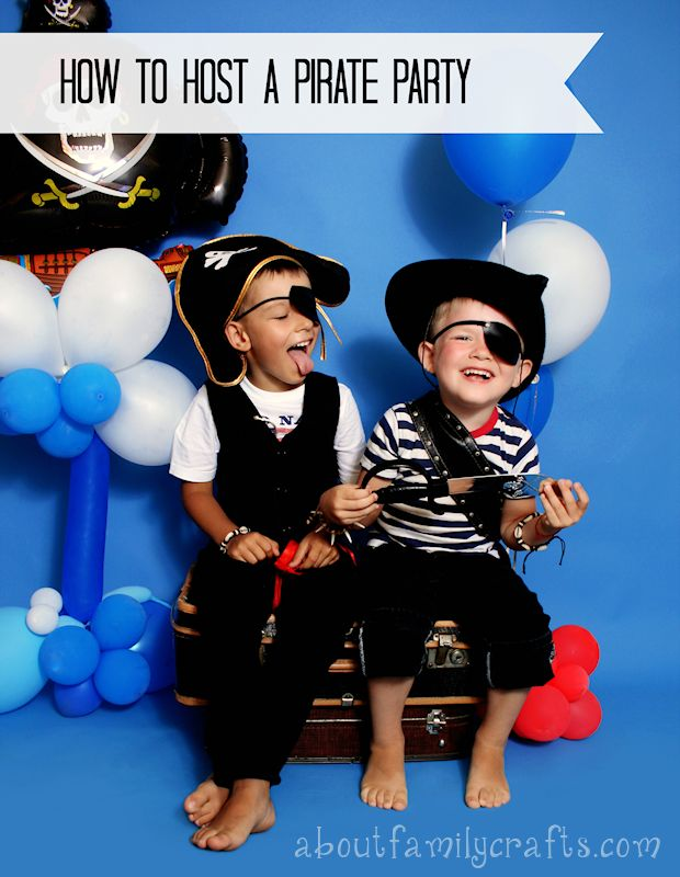 How to Host a Pirate Party