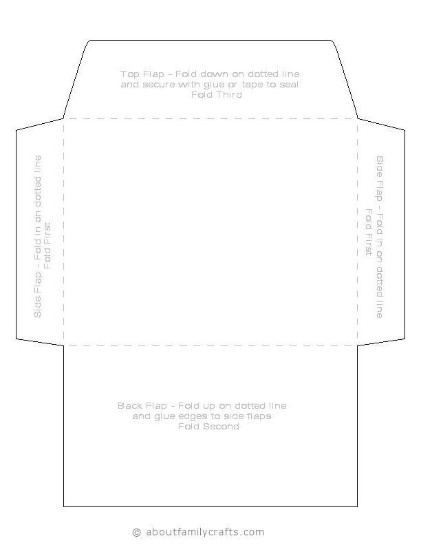 Prinable envelope
