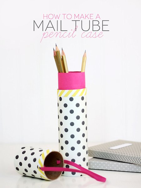 Mail Tube Pencil Case