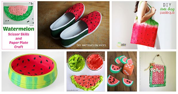 watermelon crafts to try