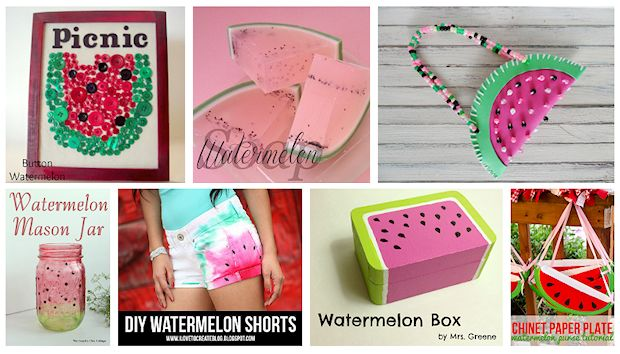 watermelon craft projects