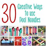 30 creative ways to use pool noodles 150