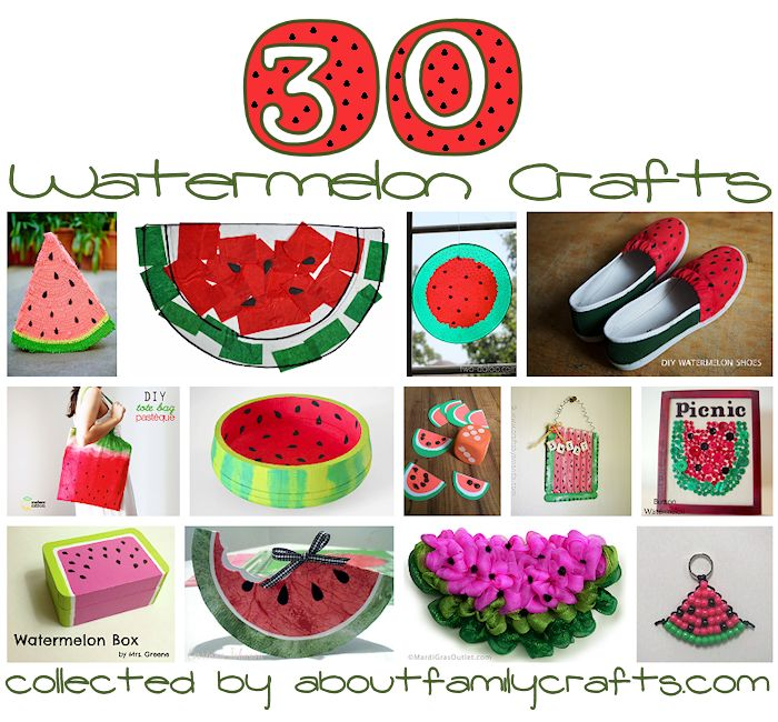 30 Watermelon Crafts
