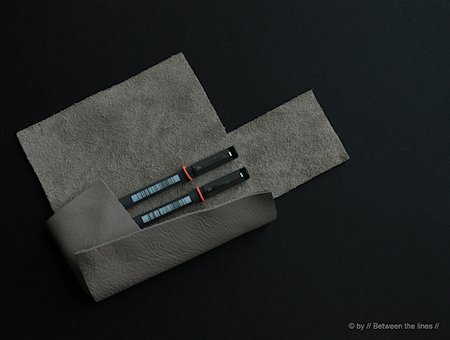 No-Sew Leather Pencil Case