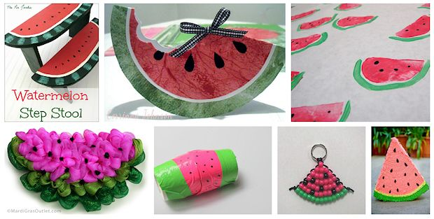 watermelon crafts to make