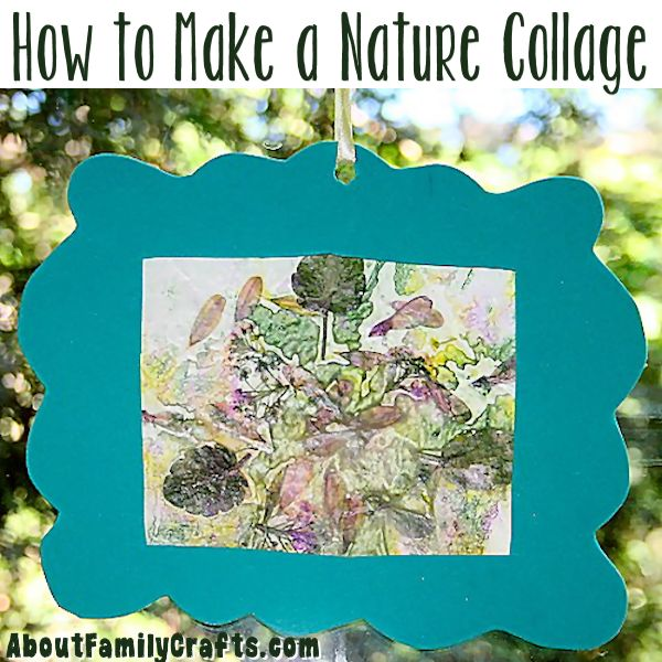 How to Make a Nature Collage