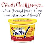 margarine tub craft challenge 150