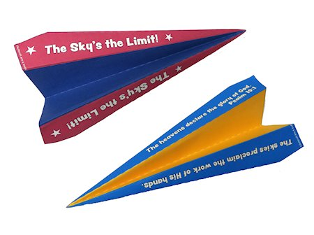 Paper Airplane Free Printables