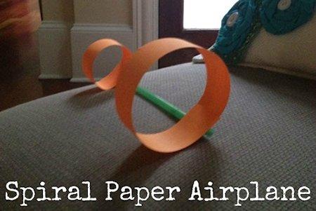 Spiral Airplane Craft