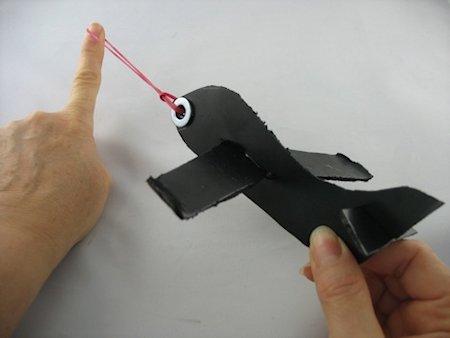 Flying Styrofoam Airplane Craft