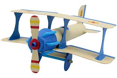 Recycled Bi-Plane Craft