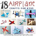 18 airplane crafts for kids 150