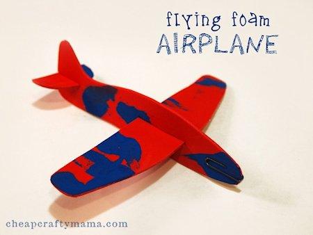 Flying Foam Airplane