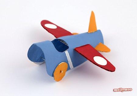 Toilet Roll Aeroplane