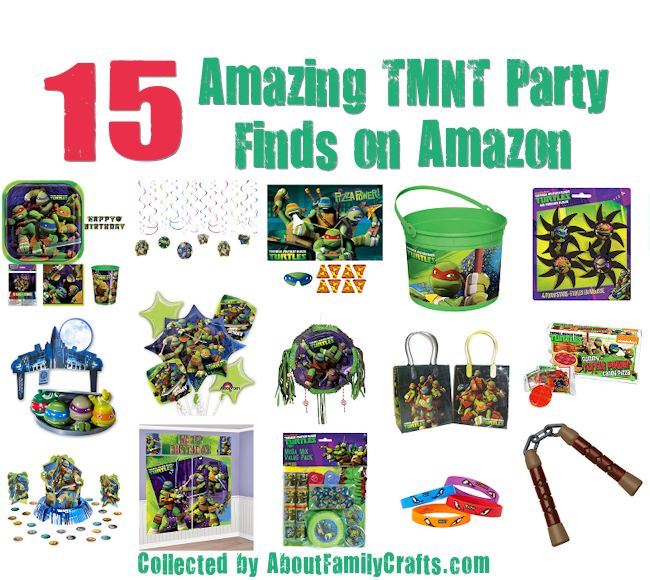 15 Amazing TMNT Party Finds on Amazon