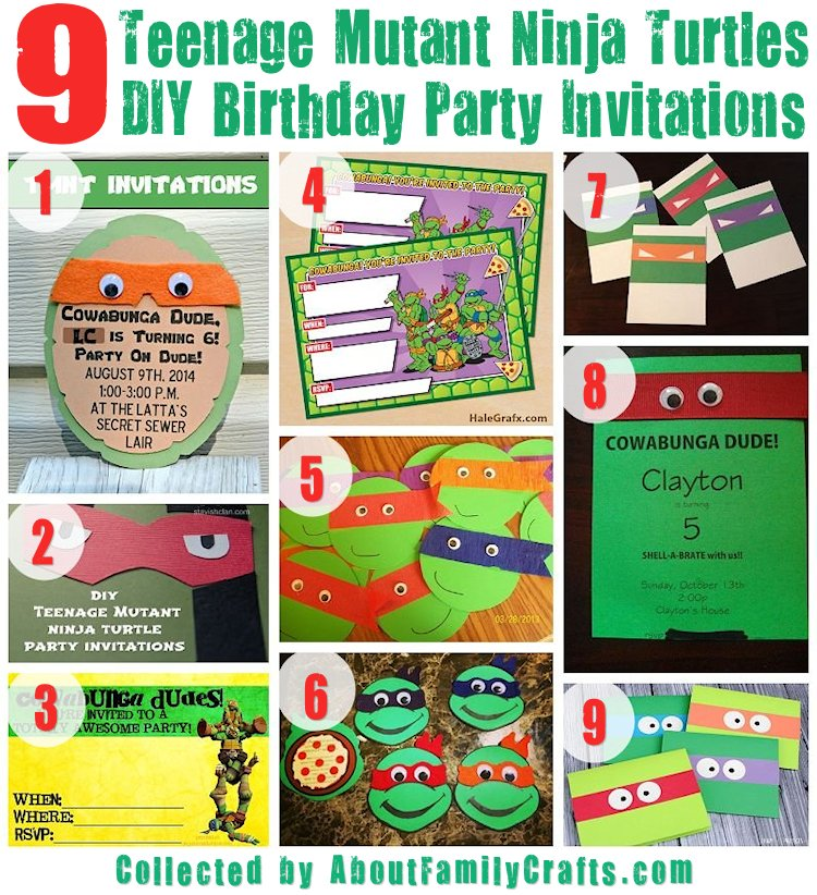 75+ diy teenage mutant ninja turtles birthday party ideas – about,