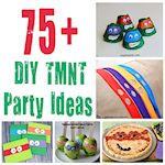 DIY TMNT Party Ideas 150