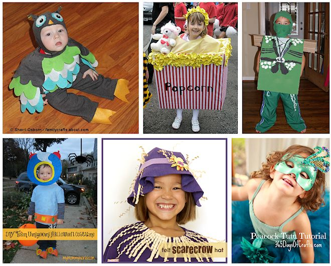 diy no sew costumes for kids