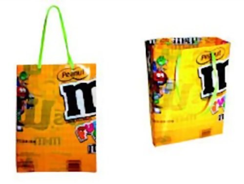 Make a Gift Bag Using Candy Wrappers