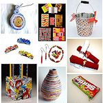 15 things to make from candy wrappers 150