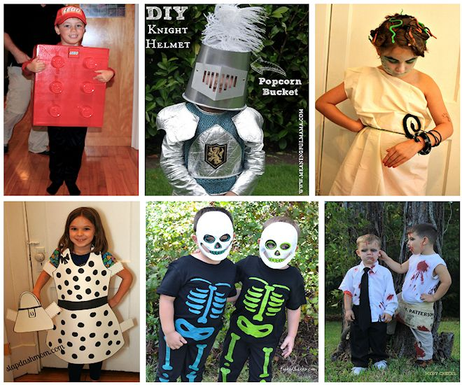 halloween costumes for kids that require no sewing