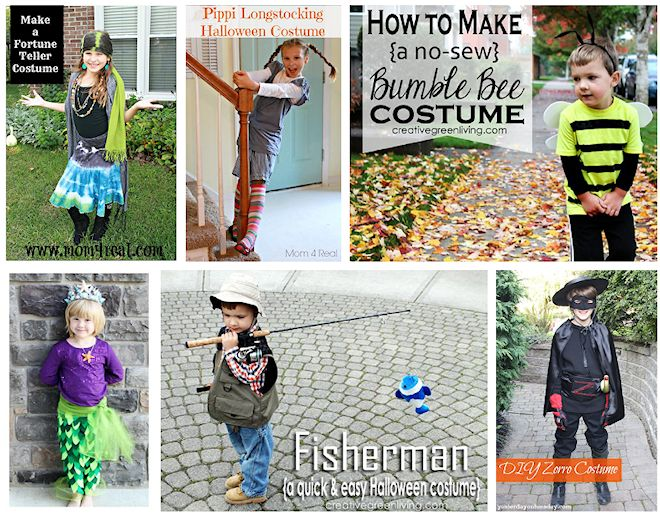 no sew halloween costume ideas