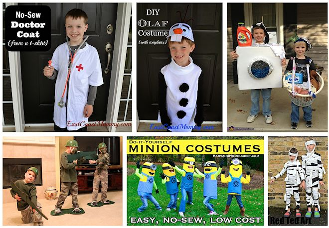 no sew costume ideas for kids