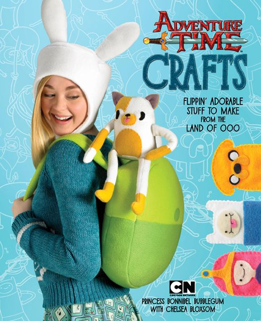 Adventure Time Crafts Book