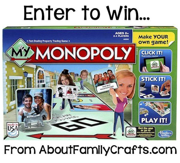 Enter to Win My Monopoly