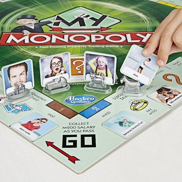 Customize Your My Monopoly Game Board