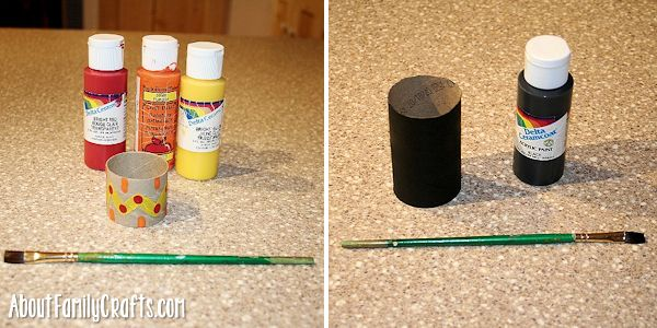 paint the place card holders