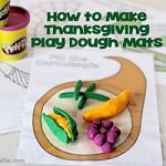 How to Make Thanskgiving PLay Dough Mats 150