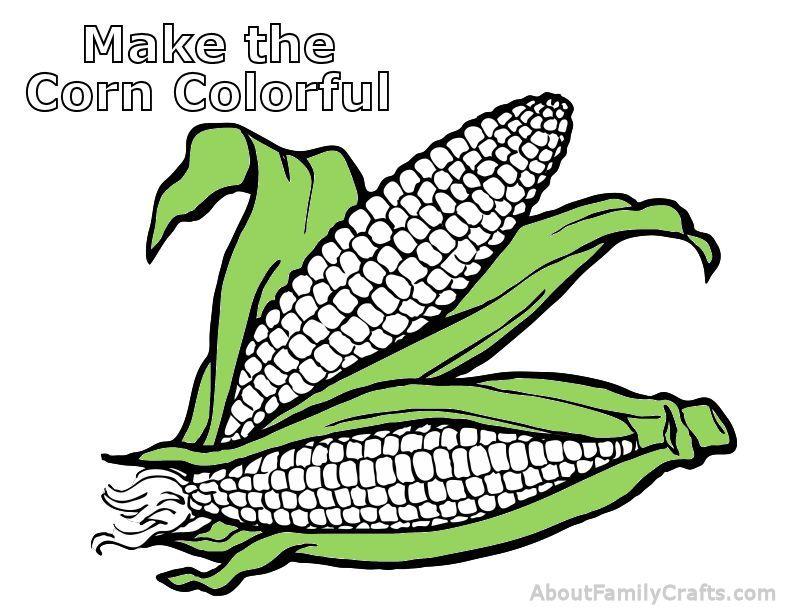 Make Colorful Corn