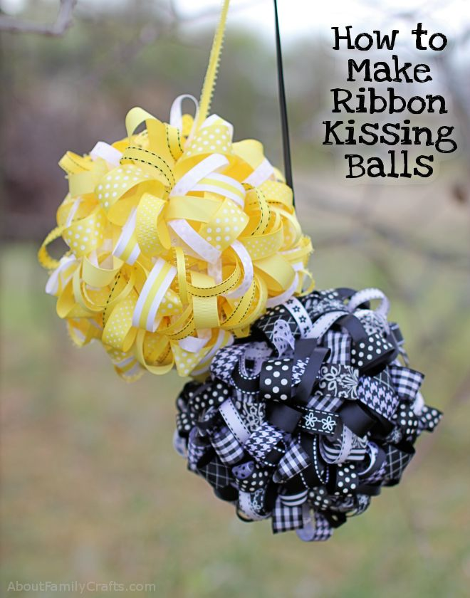 How to Make a Kissing Ball - About Family Crafts