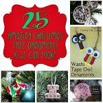 25 Amazing Christmas Tree Ornaments Kids Can Make 150