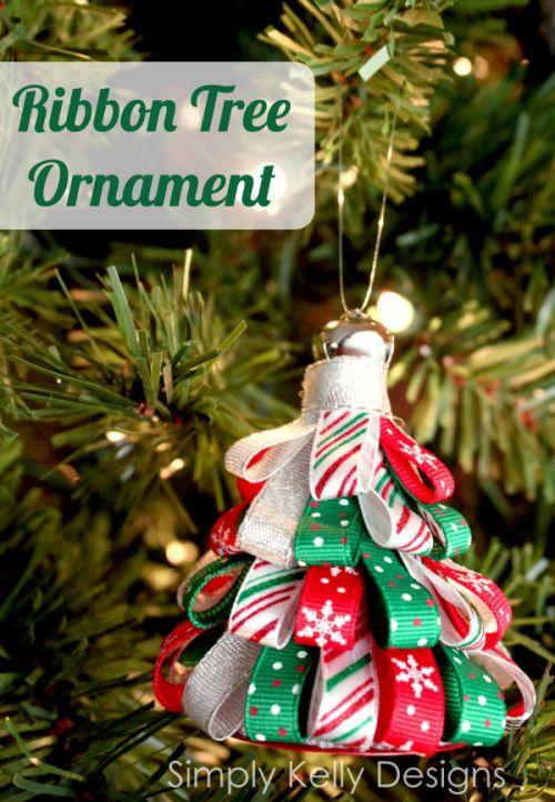 Ribbon Tree Ornament